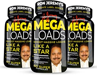 Ron Jeremy's Mega Loads Men's Formula Private Label Series - 3 Bottles