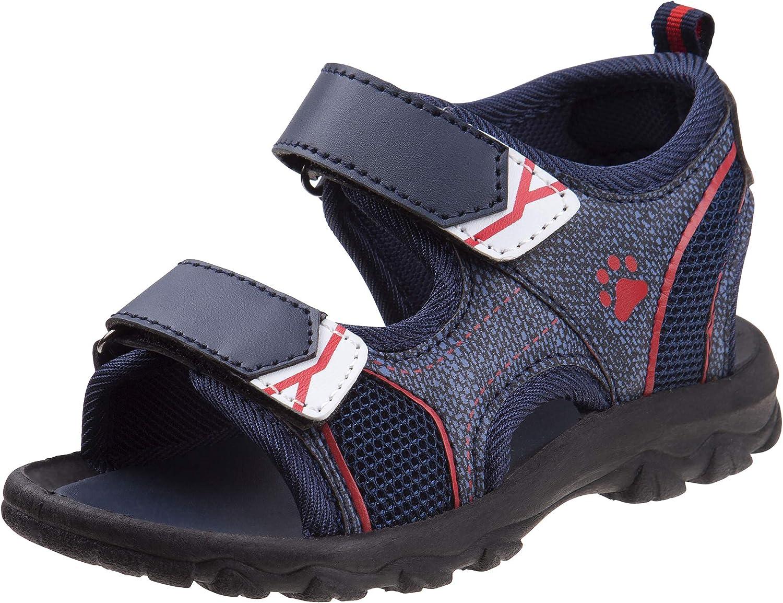 Rugged Bear Boys' Bargain sale Sandals - Open Toe Sports Surprise price Strap Double