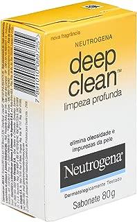 Neutrogena, Sabonete Facial Deep Clean, 80g