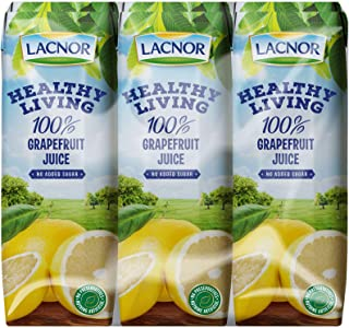 Lacnor Health Living Grape Fruit Juice - 250 ml x 6