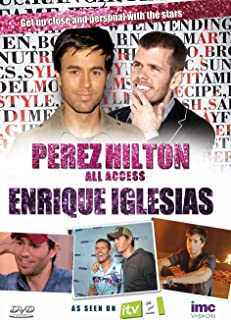 Perez Hilton - All Access - Enrique Iglesias - As Seen on ITV2 anglais