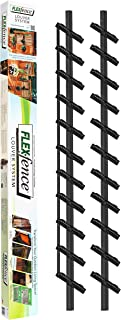 Flex-Fence, Decorative Versa Fence Louver System, Perfect for Gardens, Patios and Outdoor Spaces, Indoor and Outdoor Use, 1 Pack