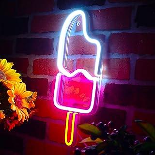 Ice-Cream Popsicle Flex Silicone LED Neon Sign st16s32-fnu0029-m1