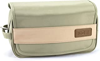 """Kozier Toiletry Bag for Men & Women - Dopp Kit, Compact Hanging Travel Toiletries Organizer, Small with Clear Waterproof Pockets 