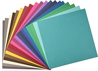 American Crafts Variety Pack Jewel 60 Sheets of 12 x 12 Inch Cardstock