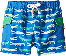 Mud Pie - Marco Polo Alligator Swim Trunks (Infant/Toddler)