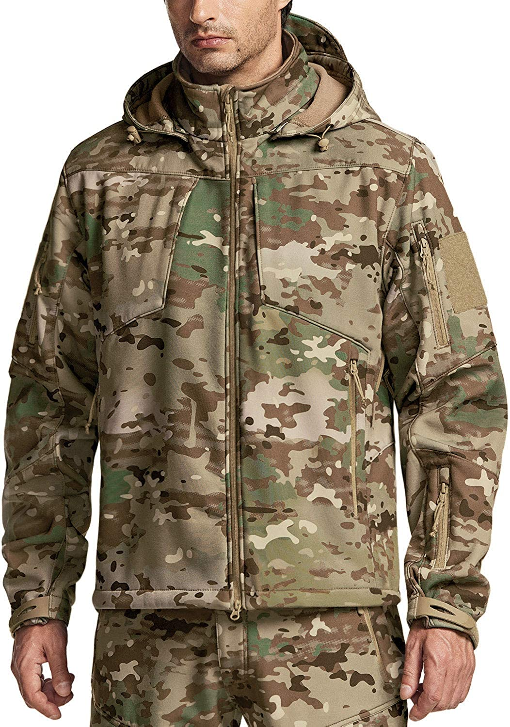 CQR Men's Free shipping New Winter Tactical Military Jackets Ranking TOP13 Waterpro Lightweight