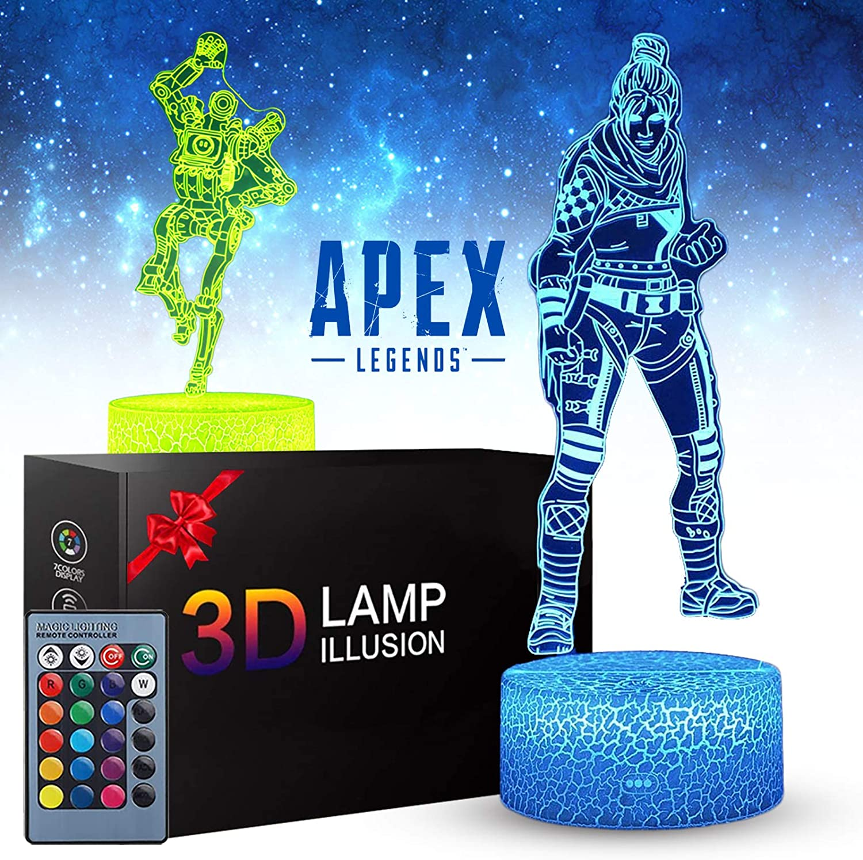 13. APEX Legends 3D Illusion Lamp