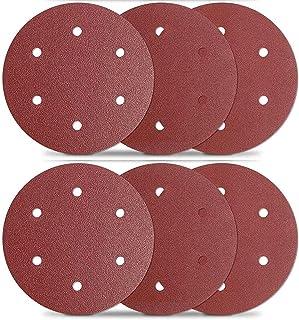MENZER White Dischi abrasivi velcrati 225 mm p Grana 40 25 Pz. Levigatrici per muri