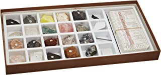 Mineral Identification Kit, Rock Samples for Studying Geology and Earth Science (Set of 20)