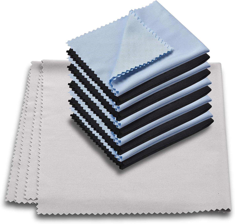 11PCS Limited price sale ParZary Microfiber Cleaning Cloths Award Glasses Soft Premium C