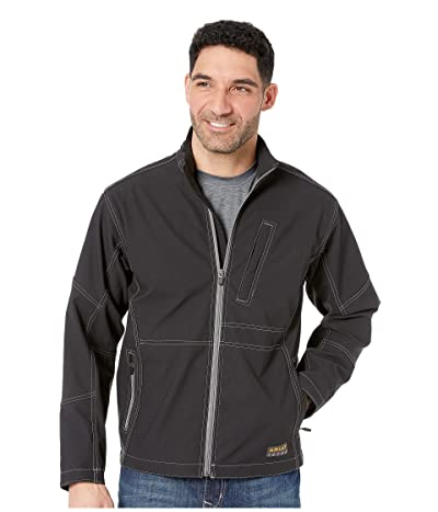 Ariat Rebar Stretch Canvas SoftShell Jacket (Black) Men