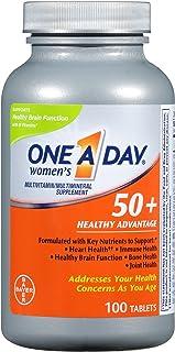 منتج بيد وان آ-داي، 50+، ميزة صحية، مكمل متعدد الفيتامينات، 100 قرص