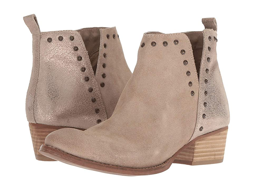 Diba True Short Order (Beige/Gold Suede/Leather) Women