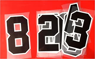 Two Colors Jersey Numbers Kit(0-9),8