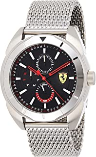 Scuderia Ferrari MEN'S BLACK DIAL STAINLESS STEEL WATCH - 830637 0830637