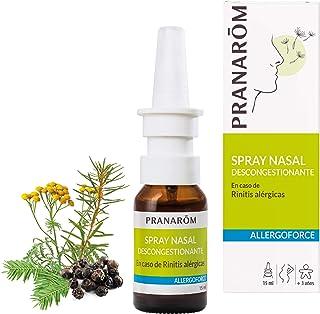 Pranarôm - Allergoforce - Spray Nasal - Nariz Tapada Por el Polen, Polvo, los ácaros … - 15 ml