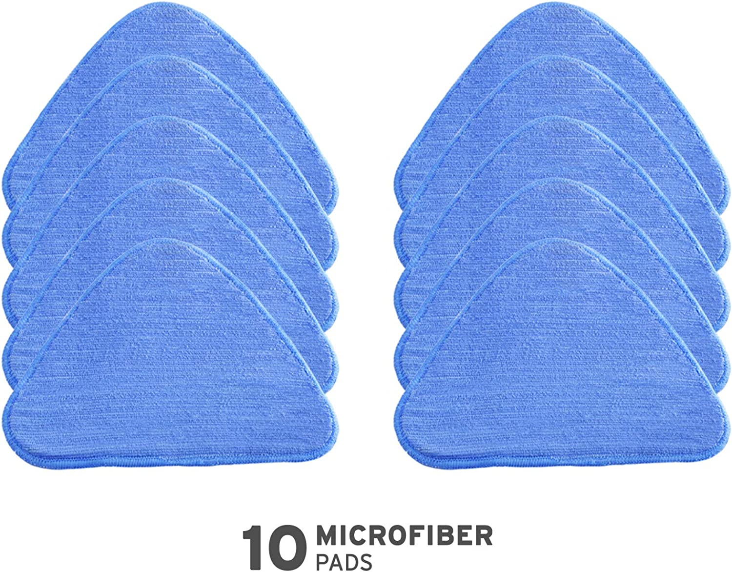 Reliable Steamboy Replacement Microfiber Pads (10 Pack)