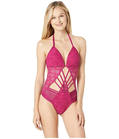 74d68bdccb Kenneth Cole Hall of Fame Push-Up Mio One-Piece Swimsuit at Zappos.com