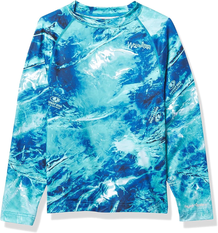 Mossy Oak Kids' Fishing Youth Shield Long Sleeve Shirt