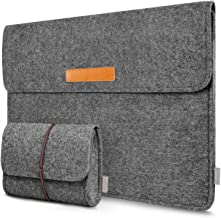 Inateck 13,3 Zoll Filz Hülle Tasche Kompatibel mit 13 Zoll MacBook Air/MacBook Pro Retina, Laptop Sleeve Case Laptophülle Kompatibel mit 12,9 Zoll iPad Pro