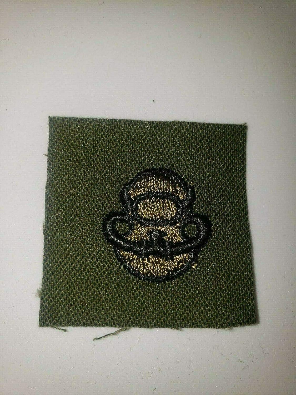 Max 74% OFF Vintage Reproduction K0646 Super special price Vietnam US Army Branch Cloth IR Diver