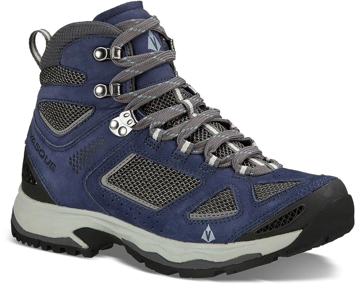 酸化物ボックスピル[ヴァスキュー]Vasque Breeze III Mid Hiking Boots - レディース Day ハイキング ブーツ CROWN BLUE/STONE BLUE 10 [並行輸入品]
