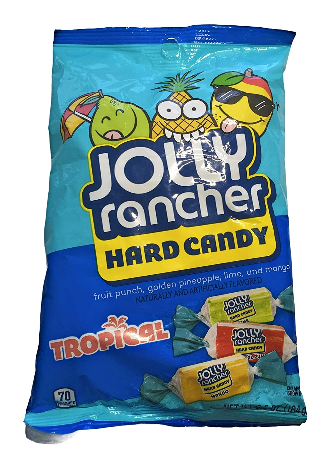 1 6.5 oz Bag Jolly Rancher Flavored Candy Recommendation Hard Tropical Fruit 2021 model