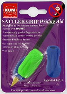 Kum 406.00.22 Non Toxic Writing Aid Sattler Grip, Colors Vary