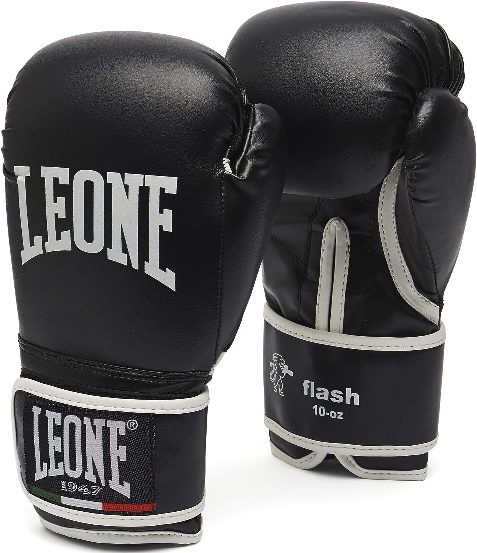 Bargain LEONE 1947 Flash Boxing Gloves Cheap - 14 Black Uz