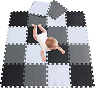 meiqicool bébé Tapis de Sol Gymnases scies sauteuses Puzzles Accessoires Puzzle Tapis de scies sauteuses d'exercice,Cadre ...