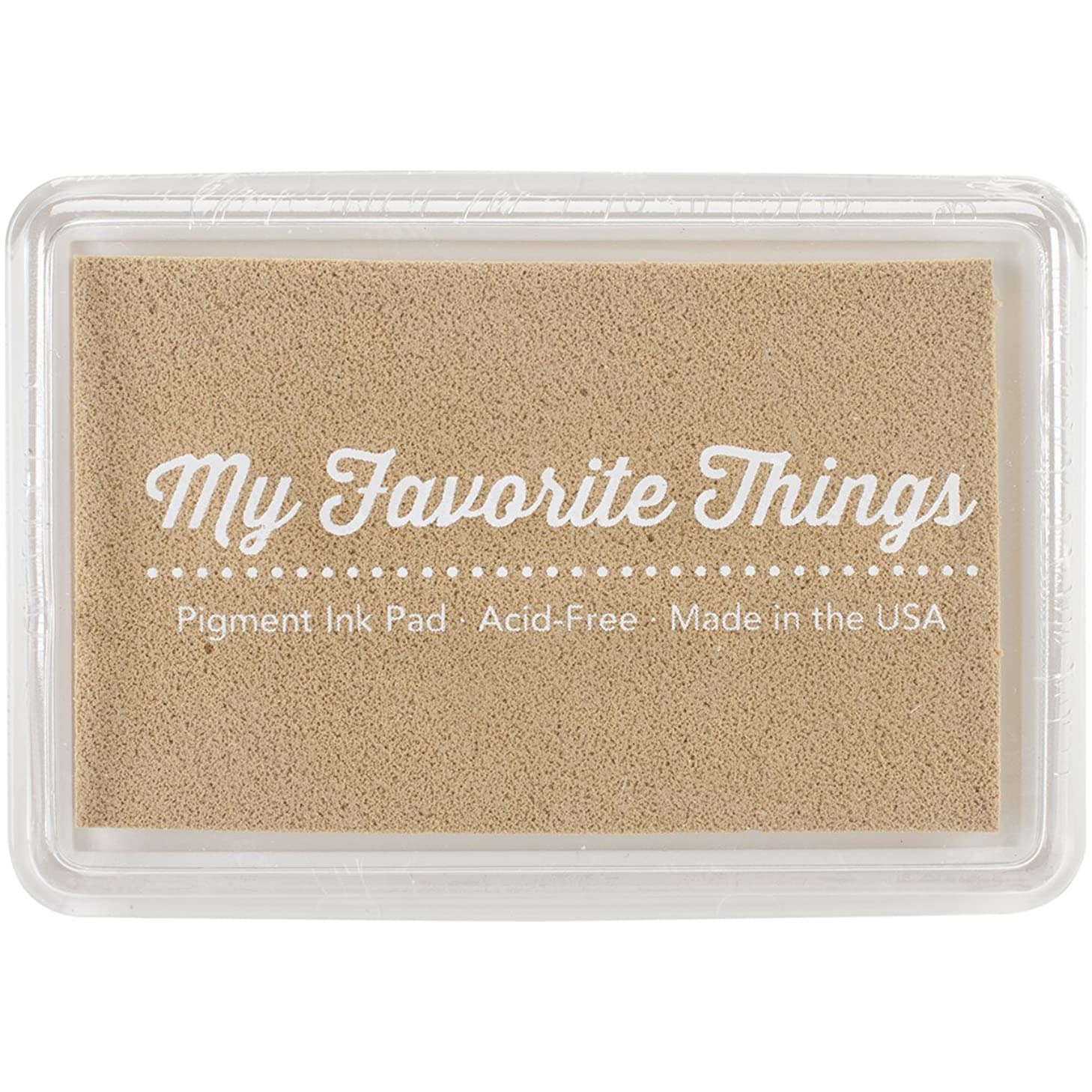 My Favorite Things PIGMENT-55 Pigment Ink Pad 3 x 2 in. - In The Buff