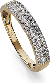 AL Liali Jewellery Women's Anniversary Studded Ring