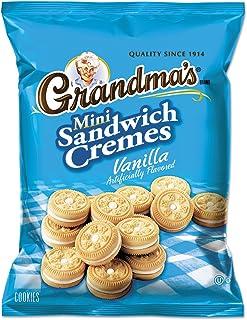 LAY45095 - Frito-lay, Inc. Mini Vanilla Crme Sandwich Cookies