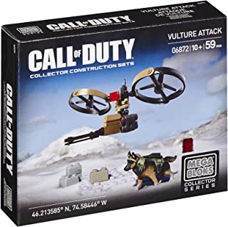 Mega Bloks Call of Duty Vulture Attack Building Set