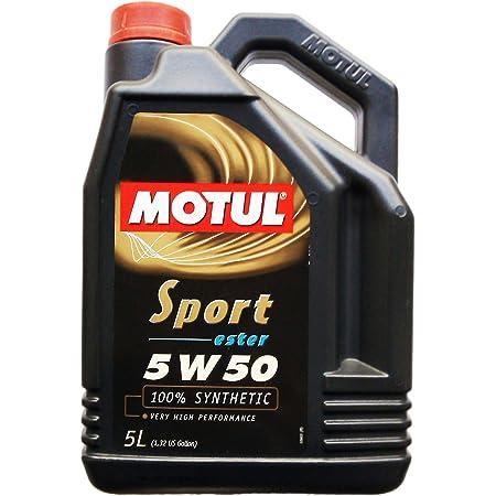 Ravenol Hvt Sae 5w 50 5w50 Synthetisches Motoröl Für Hohe Laufleistung Ab Ca 100 000 Km 5 Liter Auto