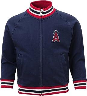save off c1eb9 584a7 Outerstuff MLB 4-7 Boys Baseball Run Track Jacket