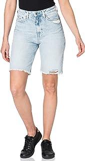 Tommy Jeans Women's Harper Denim Bermuda Ssplbrd Shorts