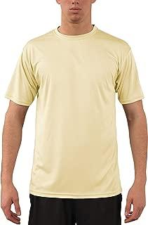 Men's UPF 50+ UV Sun Protection Performance Short Sleeve T-Shirt