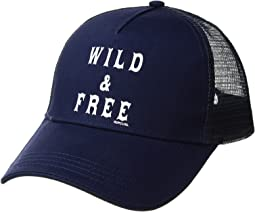cb40b635d3c Rip Curl. Word Up Trucker Hat.  22.00. Navy