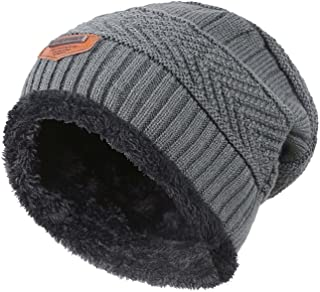 Winter Beanie Scarf for Boys Girls (5-14 Years) Hats Circle Scarf Kids 124573fc544b