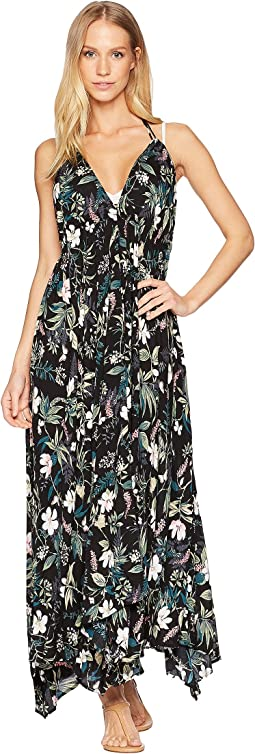 Playa Carmen Halter Maxi Dress Cover-Up