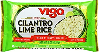 Vigo Cilantro Lime Rice, 8 Ounce (Pack of 12)