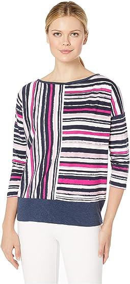 Deep Pink Stripe