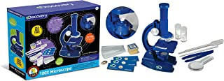Discovery Kids 100x Microscope,STEM Activity Science Kit