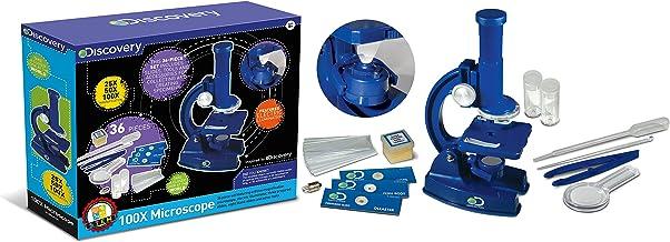 Discovery Kids 100x Microscope,STEM Activity Science Kit