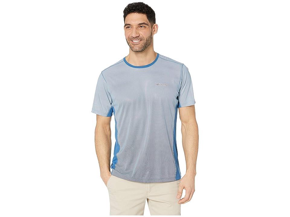 Columbia Solar Chilltm 2.0 Short Sleeve Shirt (Impulse Blue) Men