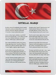 Decorita 10001503801 İstiklal Marşı Cam Tablo, 30cm x 40cm