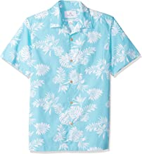 Amazon Brand – 28 Palms Men's Standard-Fit 100% Cotton Tropical Hawaiian Shirt