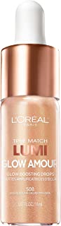 L'Oreal Paris Makeup True Match Lumi Glow Amour Glow Boosting Drops, 1 Count, Golden Hour